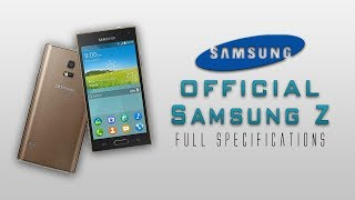 Samsung Z First TIZEN OS Smartphone [Snapdragon 800,8mp camera & much more]