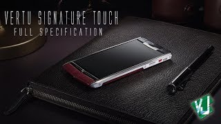 Vertu Signature Touch $10000 Smartphone!! [Snapdragon 800,Diamond & much more]