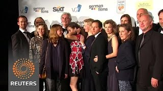 German film 'Toni Erdmann' celebrated at Cannes party