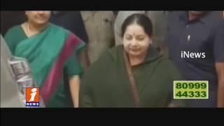 Jayalalithaa Casts Her Vote In Tamil Nadu Assembly Polls Chennai  iNews