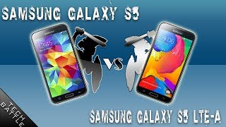 Samsung Galaxy S5 [LTE-A] V/s SAmsung Galaxy S5 [Standered] Epic TECH BATTLE!