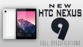 HTC Nexus 9 Full Specifications [1440p,Tegra K1,192 CUDA Cores & much more]