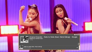 Ariana Grande Unveils Side to Side Collaboration With Nicki Minaj
