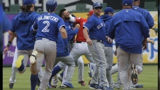 Rangers, Blue Jays Await Penalties After Fight