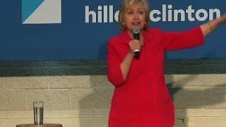 Hillary Clinton Decries 'Republican Propaganda'