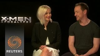 """""""X-Men"""" cast on crossover potential with Disney-Marvel"""