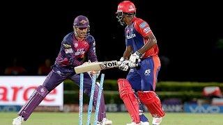 IPL 2016 - Delhi Daredevils vs Rising Pune Supergiants - Pune Restrict Delhi to 121/6