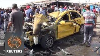 Scores killed in Baghdad bombings