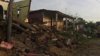 Raw: Tornado Sweeps Through Cuban Town