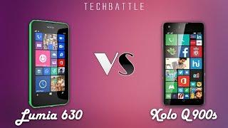 Lava Xolo Win Q900s V/s Nokia Lumia 630 BEST BUDGET WINDOWS PHONE!!