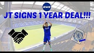 JOHN TERRY SIGNS NEW ONE-YEAR CONTRACT!!