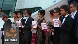 'Aquarius' team at Cannes raise Brazil concerns