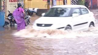 Tropical Cyclone Roanu - Roads Submerged in Flood Waters in Tamil Nadu and Andhra Pradesh, Odisha