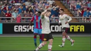 Crystal Palace Vs Manchester United - Fa Cup - Fifa16