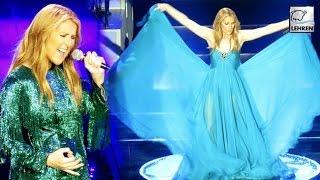 Celine Dion's EMOTIONAL 1st Performance Post Husbands Death