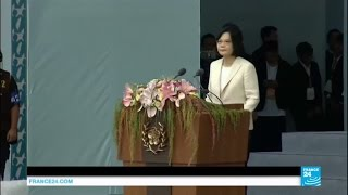 New Taiwan president: Country's first female leader Tsai Ing-wen vows peace,