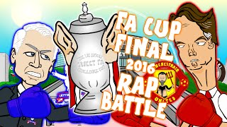 FA CUP FINAL - RAP BATTLE! (2016 preview Crystal Palace vs Manchester United)