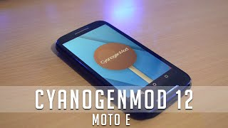 Install OFFICIAL Cyanogenmod 12 on Motorola Moto E - Step by Step Guide.