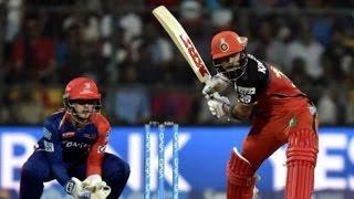 IPL 2016 - Royal Challengers Bangalore vs Delhi Daredevils - RCB Beat Delhi & March Into Playoffs