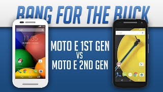 Moto E (1st Gen) V/s Moto E (2nd Gen) - Ultimate Budget TECHBATTLE.