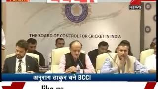 Anurag Thakur unanimously elected as BCCI President