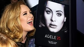 Adele Lands Biggest Contract With Sony - 90 Million Euros!