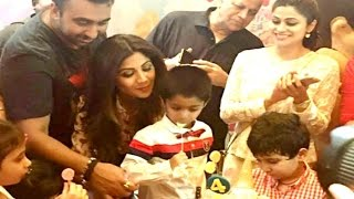 VIDEO Shilpa Shetty's Son VIAAN Birthday Party With Aishwarya Rai, Riteish Deshmukh, Sanjay Dutt