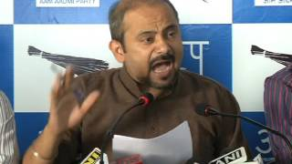 AAP Addresses Media on Corruption in BJP ruled MCD and Role of senior BJP Leaders