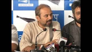 AAP Press Brief To Expose BJP leader's Role in the Murder of NDMC officer for not Accepting Bribe