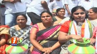 Tension at Prakasam barrage Dharna over Telangana Irrigation Projects iNews
