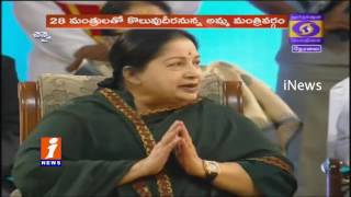Jayalalitha Takes Oath As Tamil Nadu CM For 6Th Time iNews