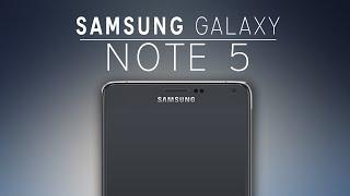 Samsung GALAXY Note 5 Specs Trailer - 2015 HD