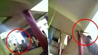 On cam: Mumbai police thrashes couple inside police station
