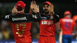 Semi-final: RCB vs GL -IPL 2016 -RCB Won by 4 Wickets