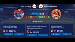 IPL LIVE Score (DD vs SRH): Delhi Daredevils vs Sunrisers Hyderabad