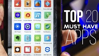 Top 20 Must Have Android Apps of 2015 - September EDITION