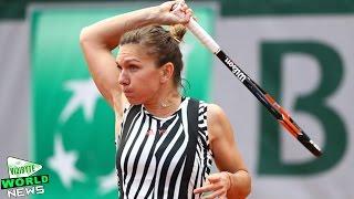 French Open 2016: Simona Halep beats Zarina Diyas