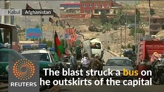 Suicide bomb hits Afghan capital as Taliban elect new leader