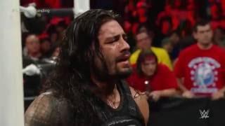 Roman Reigns vs. Big Show - Last Man Standing Match: Extreme Rules 2015