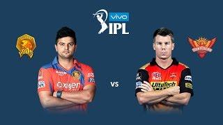 SRH VS GL - SemiFinal Match 59 IPL 2016 - Hyderabad VS Gujarat 27/05/2015