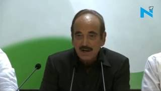 During past 2-years Modi Govt has only re-phrased old schemes: Azad