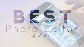Awesome Photo Editor And Filter Apps - MUST HAVE!!!!