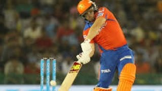 IPL 2016 - Qualifier 2 - Gujarat Lions vs Sunrisers Hyderabad - Gujarat Lions Score 162 Runs