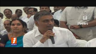 TRS ministers tour in Medak District   Harish Rao   iNews