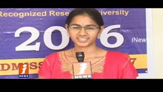 Education structure and Future in GITAM University   Students Response   iNews