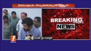 Posani Krishna Murali Gets Abusing Calls | Files Case In SR Nagar Police Station | Hyderabad | iNews