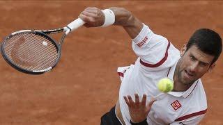 French Open - Second Round - Novak DjokovicBeats Steve Darcis