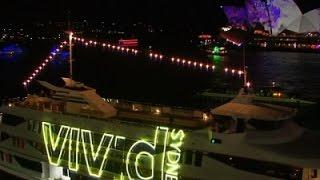 Raw: 'Vivid' Down Under Light Show