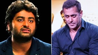 Arjit Singh publicly APOLOGISES to Salman Khan for INSULTING him