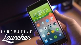 Most Innovative Android Launcher - HomeUX Launcher Review